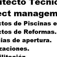 Arquitecto Técnico-Project management.Piscinas-Reformas-Licencias