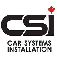Car Systems Installation CSI