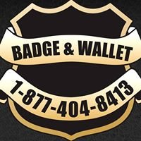 Badge and Wallet