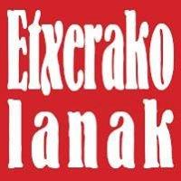 Etxerako Lanak