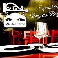 Cafe Bar Restaurante Mirador cerezo.abierto todos los dias  de 7:30 a 12