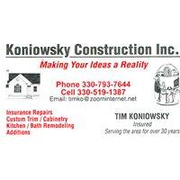 Koniowsky Construction Inc.