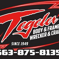 Tegeler Body & Frame, Wrecker & Crane Inc.