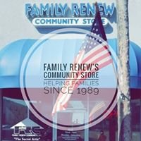 "Family Renew Community Store: ""The Secret Attic"""