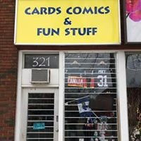 Cards Comics & Fun Stuff - Port Credit