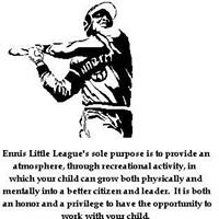 Ennis Little League Baseball