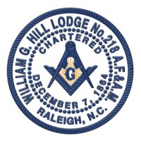William G. Hill Masonic Lodge No. 218
