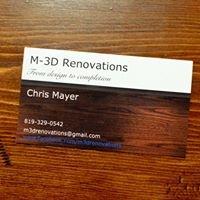 M-3D Renovations
