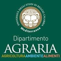 Dipartimento Agraria - Università Mediterranea Reggio di Calabria