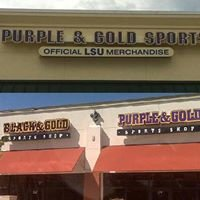 Purple and Gold Sport Shop