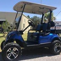 Joes custom golf cart