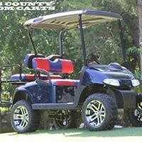 Ellis County Custom Carts Authorized EZ Go Dealer