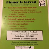 Dinner Is Served LLC