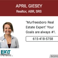 April Giesey - Middle TN Realtor
