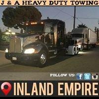 J & A Heavy Duty Towing