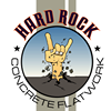 Hard rock concrete