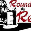Rounding the Red Barrel Race