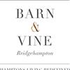 Barn and Vine