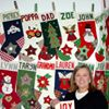 AuntJoy's Personalized Christmas Stockings