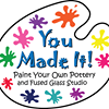 You Made It! Paint Your Own Pottery and Fused Glass Studio