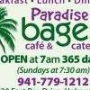 Paradise Bagels, Cafe & Catering