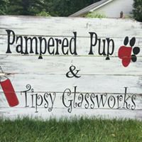 Pampered Pup & Tipsy Glassworks