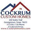 Cockrum Custom Homes