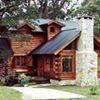 Cabañas Casa de Troncos, construcción en madera