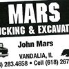 "Mars Excavating ""We'll move the earth for you"""