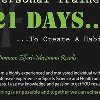 21 Days Personal Training