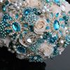 Crystal Elements Crystal Brooch Wedding Bouquets
