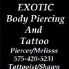 Exotic Body Piercing and Tattoo
