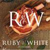 Ruby & White