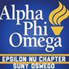 Alpha Phi Omega, Epsilon Nu Chapter - SUNY Oswego