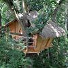 Les cabanes dans les arbres de Fontaine-Chatel