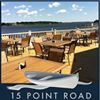 15 Point Road Restaurant, Waterfront Dining