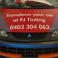 PJ Tinting. Mobile Window tinting and vinyl wrapping.