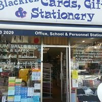 Blackfen Cards Gifts Stationery & Party Goods