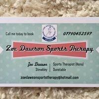 Zoe Dawson Sports Therapy
