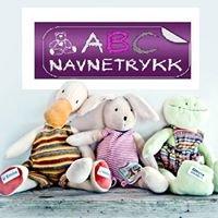 ABC Navnetrykk
