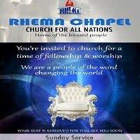 Pastor Tayo Oladeru Rhema Chapel London