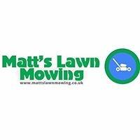 Matt's Lawn Mowing, Turfing & Gardening Services