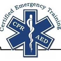 Certified Emergency Training