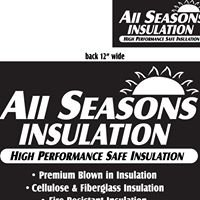 """ALL Seasons Insulation inc.""."