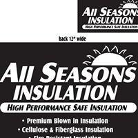 """ALL Seasons Insulation inc.""."