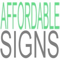 Affordable Signs