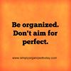 Simply Organized