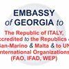 საქართველოს საელჩო იტალიაში Ambasciata di Georgia in Italia
