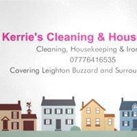 Kerrie's cleaning ,housekeeping & ironing