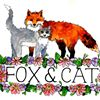 Fox & Cat Flowers
